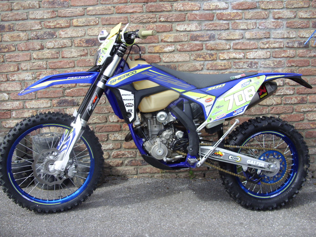 SHERCO 300 FACTORY SEF-R 4T 2018
